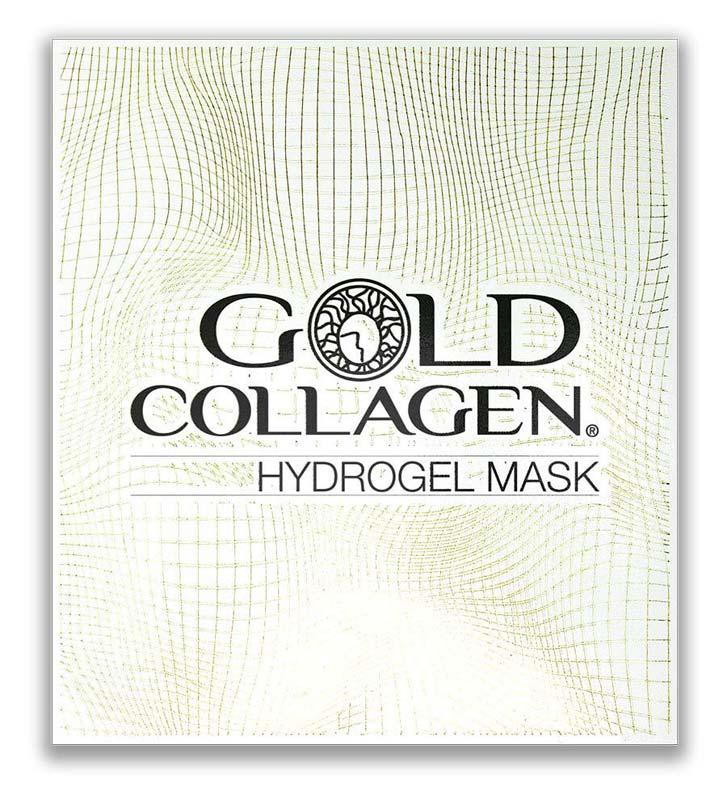 GOLD COLLAGEN HYDROGEL MASK 4 MASCHERE DA 30 G