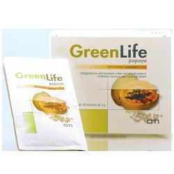 GREEN LIFE PAPAIA FERMENTATA - 30 BUSTE DA 3 G