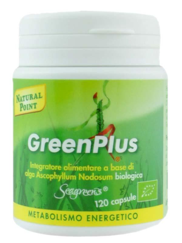 GREEN PLUS 120 CAPSULE