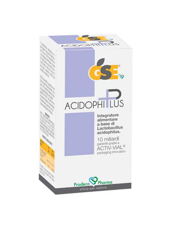 GSE ACIDOPHIPLUS 30 CAPSULE VEGETALI