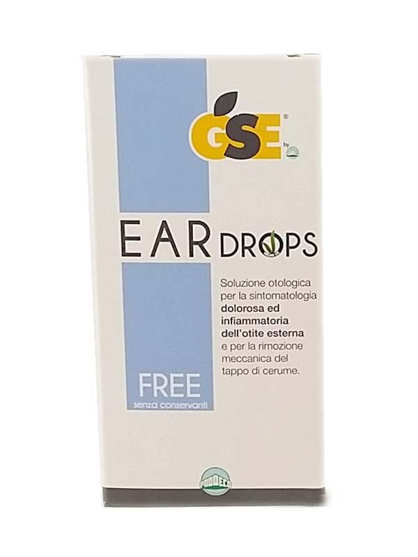 GSE® EAR DROPS SOLUZIONE 10 PIPETTE DA 0,3 ML