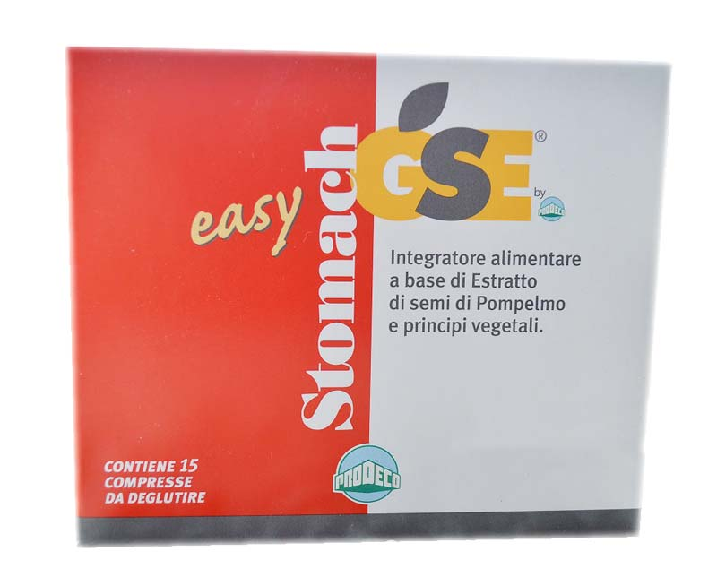 GSE STOMACH EASY 15 COMPRESSE