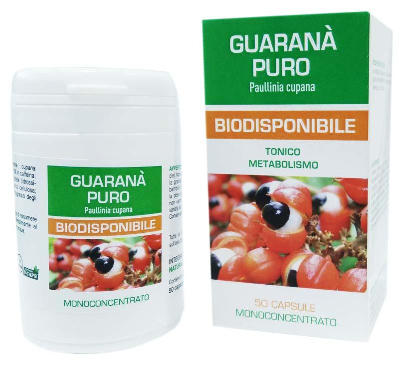 GUARANA PURO BIODISPONIBILE 50 CAPSULE DA 500 MG