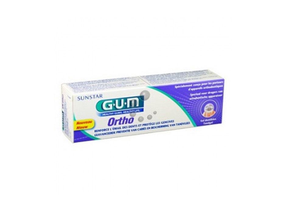 GUM ORTHO GEL DENTIFRICIO 75 ML