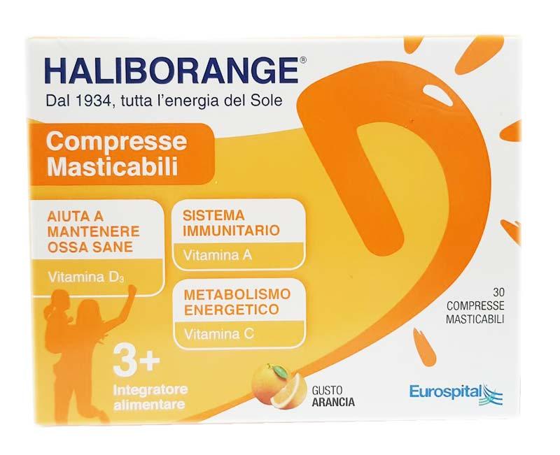 HALIBORANGE GUSTO ARANCIA 30 COMPRESSE MASTICABILI