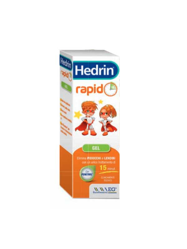 HEDRIN RAPID GEL CONTRO PIDOCCHI E LENDINI - 100 ML