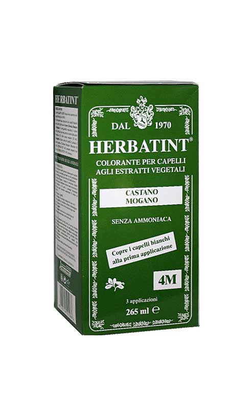 HERBATINT TINTA PER CAPELLI 4M CASTANO MOGANO - 265 ML