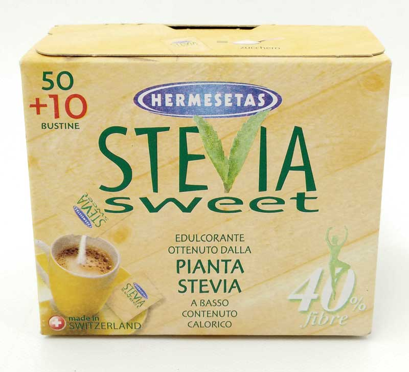 HERMESETAS STEVIASWEET DOLCIFICANTE 60 BUSTINE