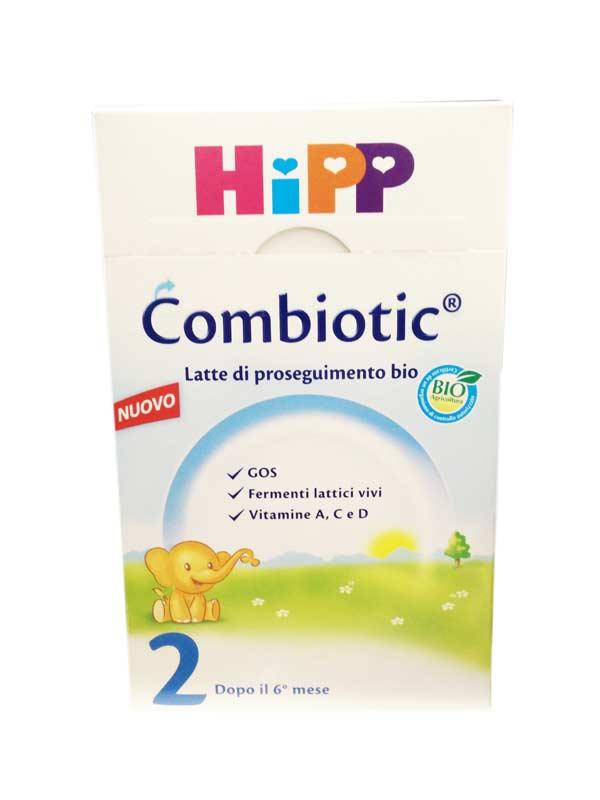 HIPP COMBIOTIC LATTE BIO 2 DI PROSEGUIMENTO IN POLVERE - DAL SESTO MESE - 600 G