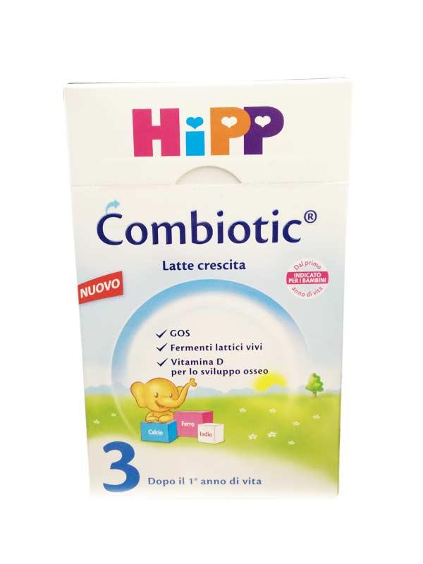HIPP COMBIOTIC LATTE BIO 3 DI CRESCITA IN POLVERE - DAL PRIMO ANNO - 600 G