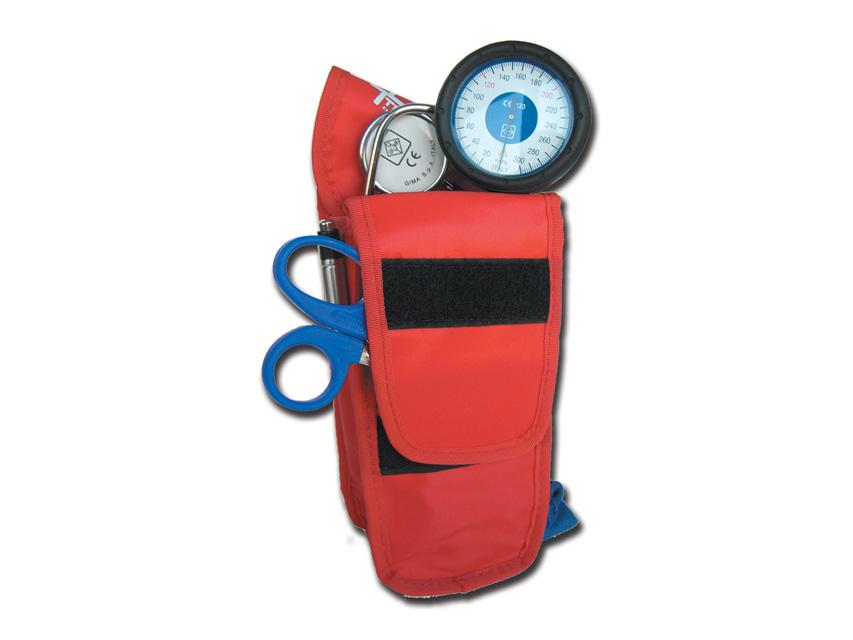HOLSTER GIMA GRANDE - con tasca - vuoto - rosso