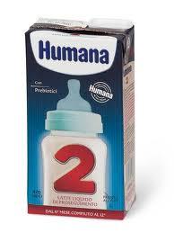 HUMANA 2 LATTE LIQUIDO DI PROSEGUIMENTO - DA 6 A 12 MESI - 470 ML
