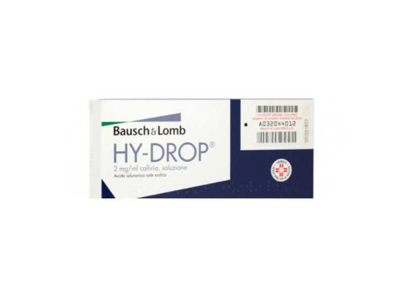 HY-DROP 2MG-ML COLLIRIO - 20 FIALE MONOD DA 0,25 ML