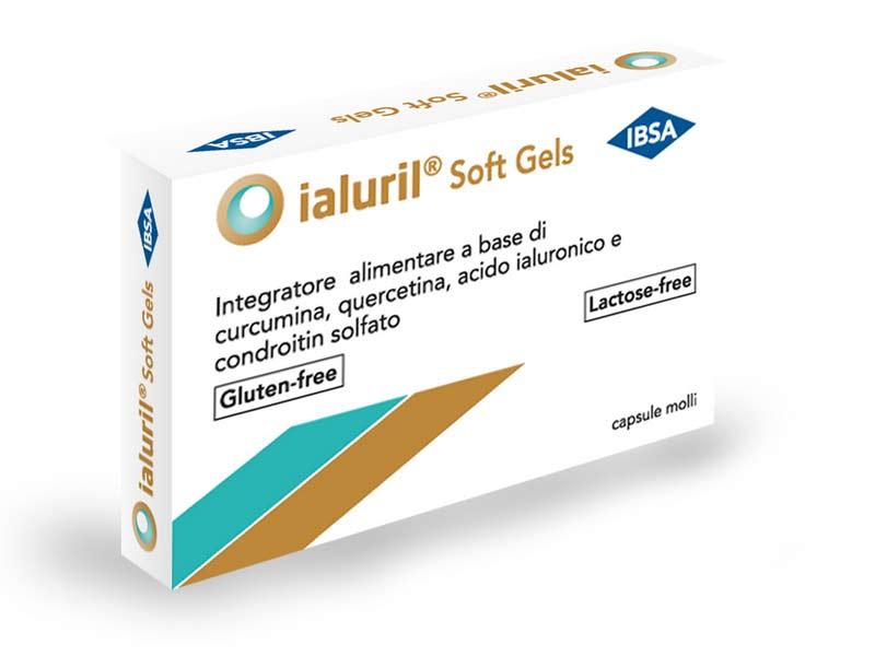 IALURIL SOFT GEL INTEGRATORE PER LA FUNZIONALITA' DELLA VESCICA - 30 CAPSULE