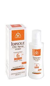 IDISOLE OLIO SPRAY UVAGE PROTEZIONE BASSA SPF6 - 200 ML