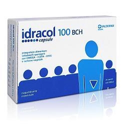 IDRACOL 100 BHC INTEGRATORE ALIMENTARE PER RIPRISTINARE LA FLORA BATTERICA INTESTINALE - 20 CAPSULE