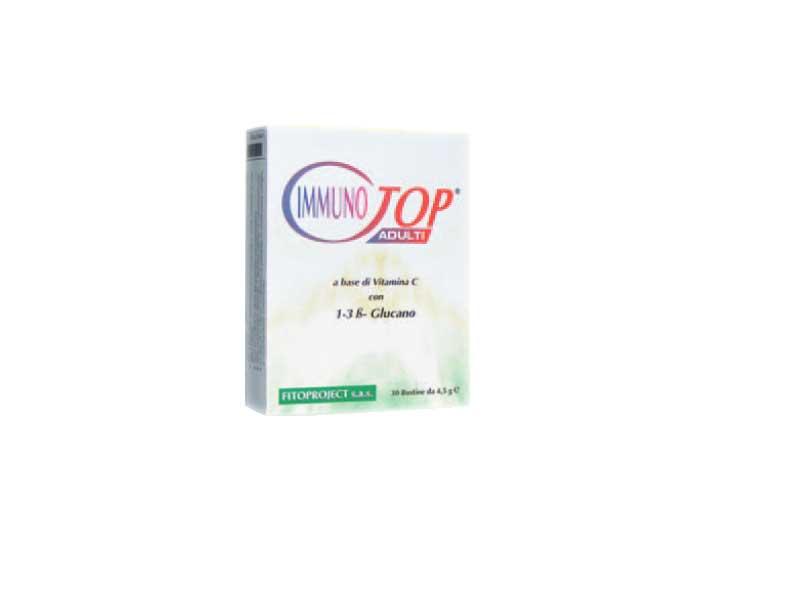 IMMUNOTOP INTEGRATORE IMMUNOSTIMOLANTE - 30 BUSTE DA 4,5 G