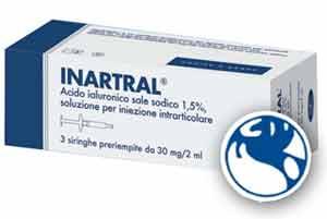 INARTRAL ACIDO IALURONICO - SIRINGHE PRERIEMPITE - 3 x 2 ML