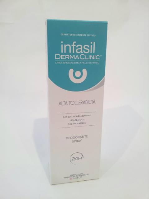 INFASIL DERMA CLINIC ALTA TOLLERABILITA' DEODORANTE SPRAY - 150 ML