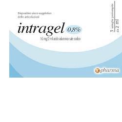INTRAGEL 0,8 PER CENTO - 3 SIRINGHE PRERIEMPITE DA 2 ML