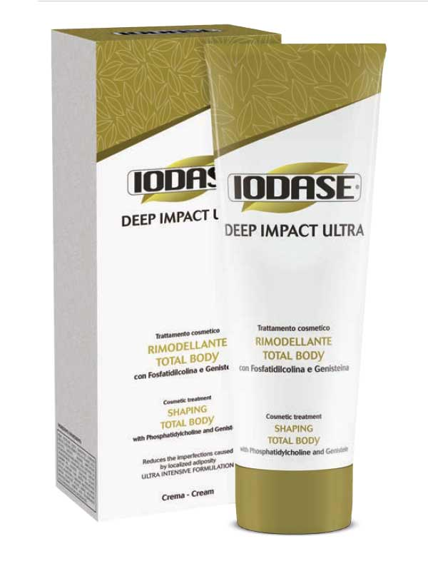 IODASE DEEP IMPACT ULTRA RIMODELLANTE TOTAL BODY CREMA 220 ML