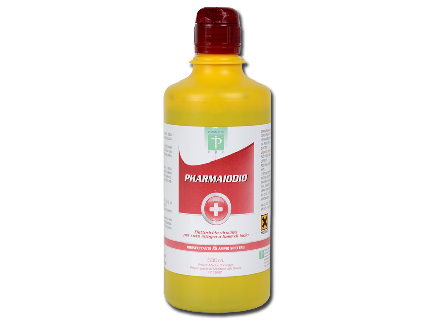 IODOPOVIDONE ANTISETTICO - 500 ml