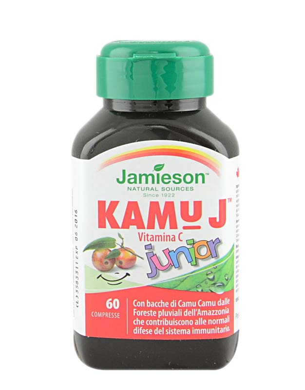JAMIESON KAMU J VITAMINA C JUNIOR 60 COMPRESSE