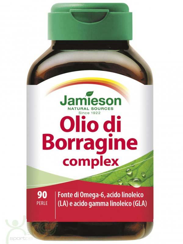 JAMIESON OLIO DI BORRAGINE COMPLEX 90 PERLE