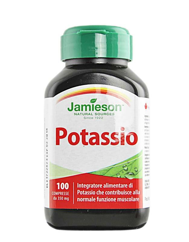 JAMIESON POTASSIO 100 COMPRESSE