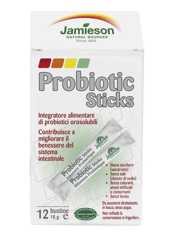JAMIESON PROBIOTIC STICK 12 BUSTINE