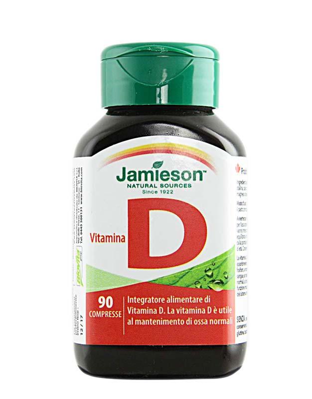 JAMIESON VITAMINA D 90 COMPRESSE
