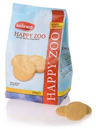 KELINEA BISCOTTI SENZA GLUTINE - HAPPY ZOO - 250 G