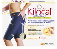 KILOCAL PANTY PANTALONCINO TERMO MASSAGGIANTE TAGLIA S