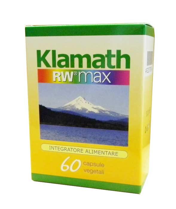 KLAMATH RW MAX INTEGRATORE ALIMENTARE DI VITAMINE E MINERALI - 60 CAPSULE