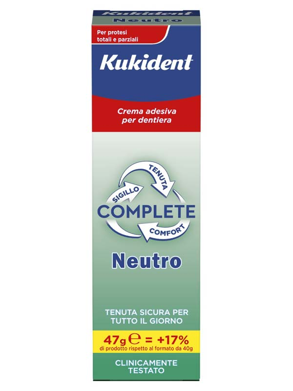 KUKIDENT NEUTRO CREMA ADESIVA 47 G