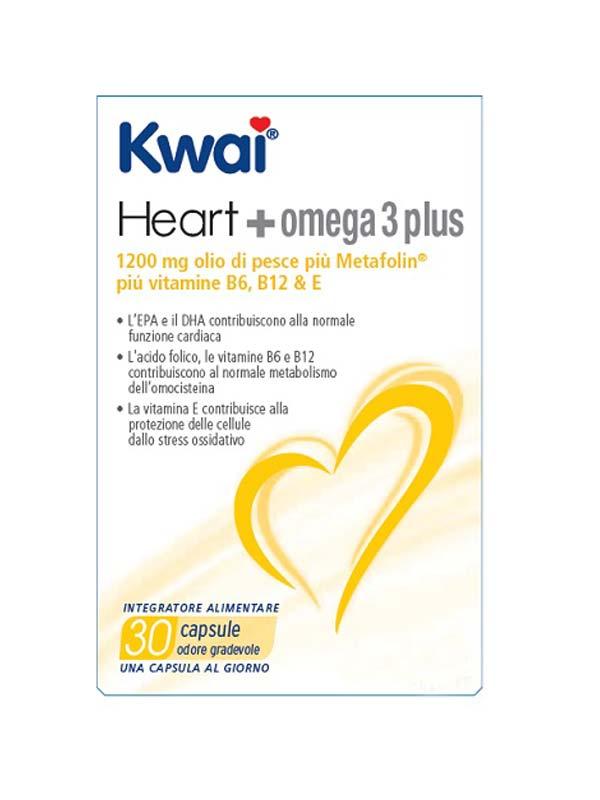 KWAI HEART+OMEGA 3 PLUS 30 CAPSULE