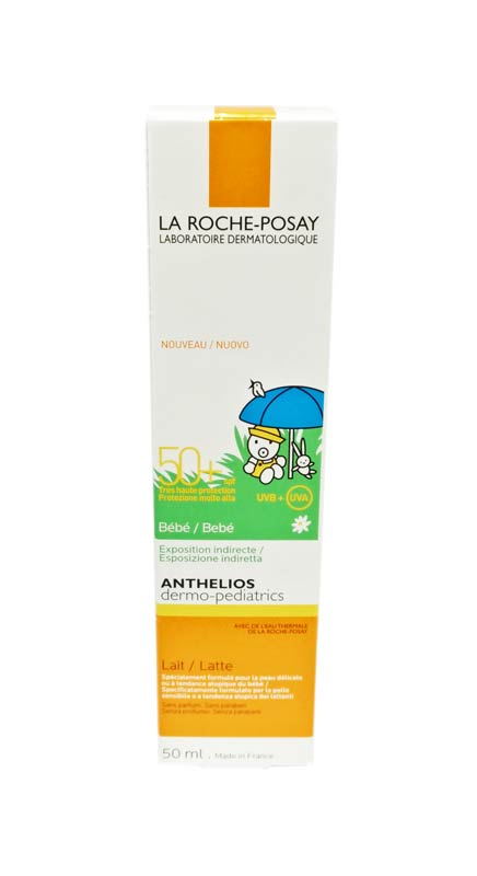 LA ROCHE POSAY ANTHELIOS DERMO PEDIATRICS LATTE BEBE SPF 50+ 50 ML