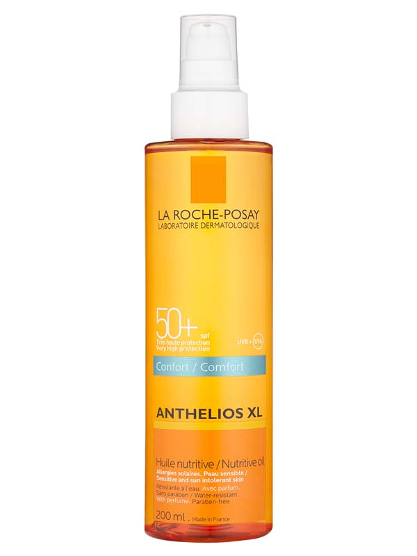 LA ROCHE POSAY ANTHELIOS XL OLIO NUTRIENTE INVISIBILE COMFORT SPF 50+ 200 ML
