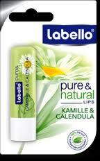 LABELLO PURE AND NATURAL CAMOMILLA E CALENDULA 5,5 ML