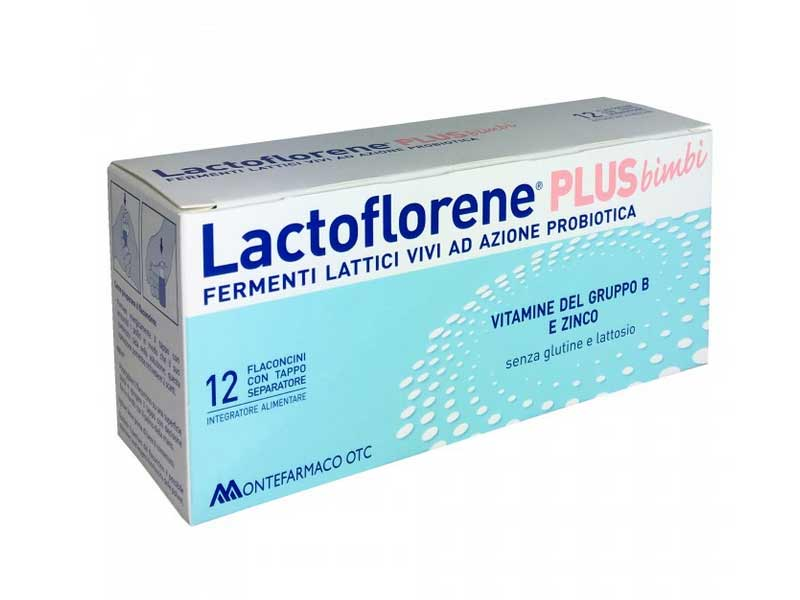 LACTOFLORENE® PLUS BIMBI 12 FLACONCINI