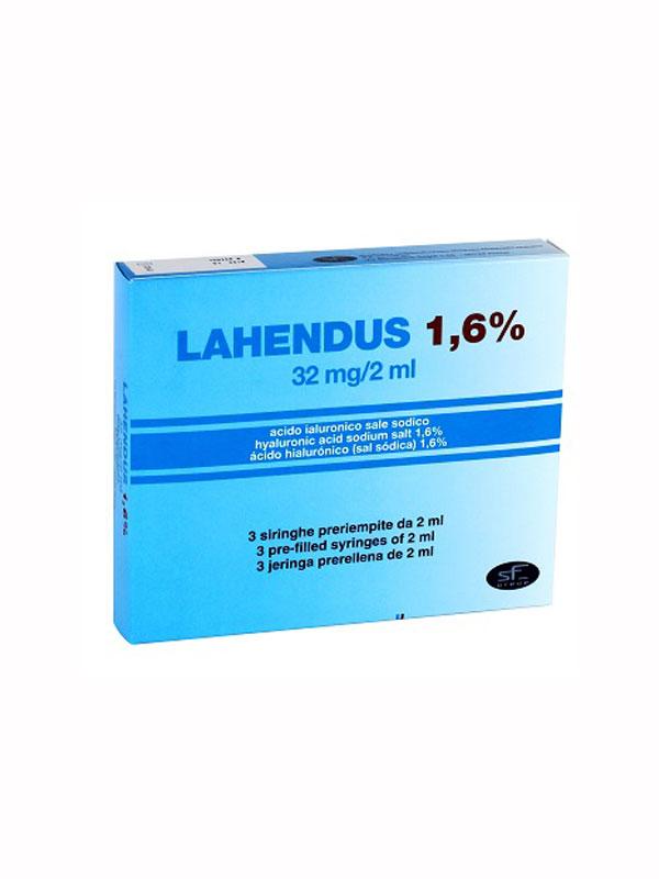 LAHENDUS 1,6% ACIDO IALURONICO 3 SIRINGHE DA 2 ML