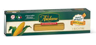 LE ASOLANE FONTE DI FIBRA BUCATINI PASTA SENZA GLUTINE - 250 G