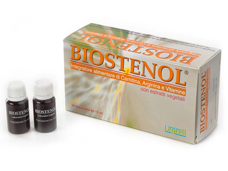 LEGREN BIOSTENOL 10 FLACONCINI DA 15 ML