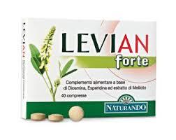 LEVIAN FORTE INTEGRATORE ALIMENTARE UTILE PER LA CIRCOLAZIONE VENOSA - 30 COMPRESSE