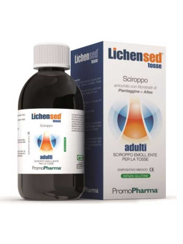 LICHENSED TOSSE ADULTI SCIROPPO EMOLLIENTE- 100 ML