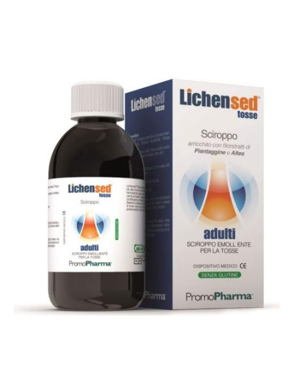 LICHENSED TOSSE ADULTI SCIROPPO EMOLLIENTE 200 ML