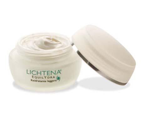 LICHTENA EQUILYDRA crema viso reidratante leggera 50 ml pelli normali e miste