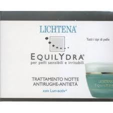LICHTENA EQUILYDRA TRATTAMENTO NOTTE ANTIRUGHE ANTI ETA' - 50 ML