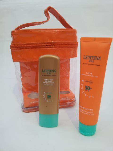 LICHTENA SOLE KIT LATTE E CREMA VISO