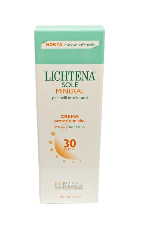 LICHTENA SOLE MINERAL CREMA PROTEZIONE ALTA SPF 30 - 100 ML